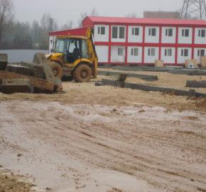 Строительство автодрома
