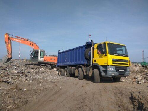 Вывоз грунта в Перово