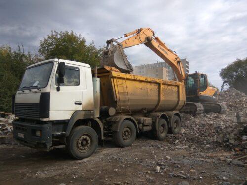 Вывоз грунта в Марьино недорого